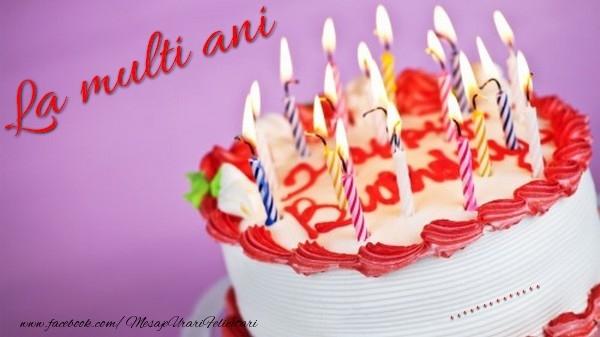 Felicitari personalizate de la multi ani - La multi ani, ...!