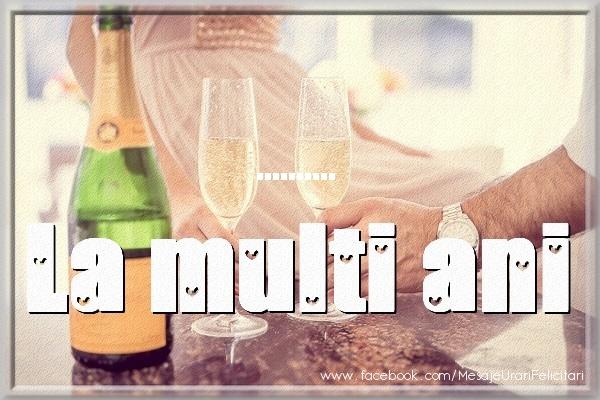 Felicitari personalizate de la multi ani - La multi ani ...