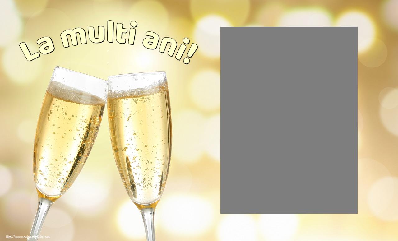 Felicitari personalizate de la multi ani - La multi ani! - Rama foto de La Multi Ani