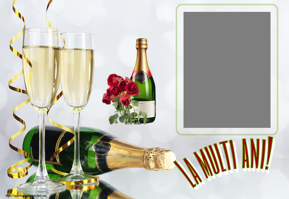 Felicitari personalizate de la multi ani - La multi ani! - Rama foto
