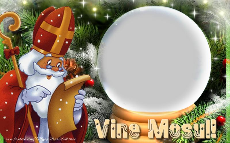 Felicitari personalizate de Mos Nicolae - Vine Mosu' !