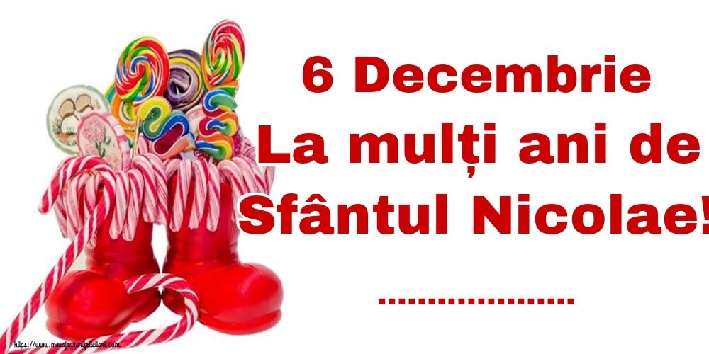 Felicitari personalizate de Mos Nicolae - 6 Decembrie La mulți ani de Sfântul Nicolae! ...