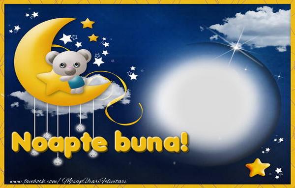 Felicitari personalizate de noapte buna - Noapte buna
