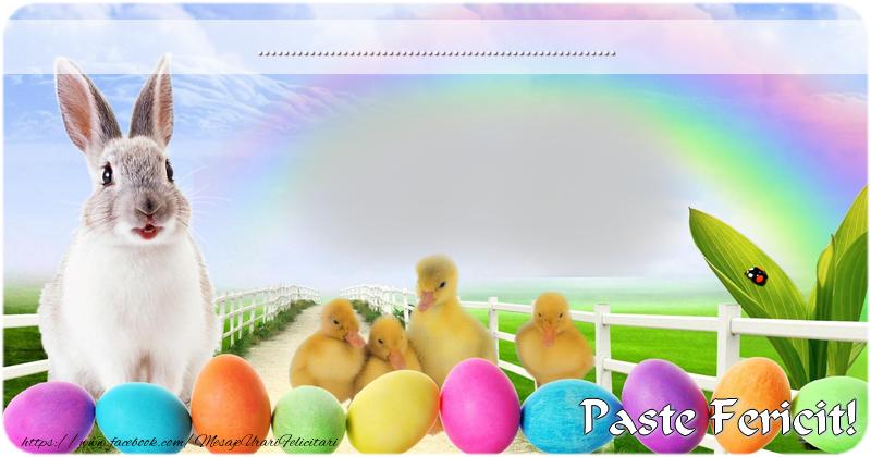 Felicitari personalizate de Paste - Felicitarea ta de Pasti!