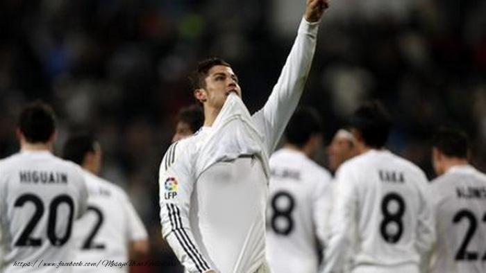 Felicitari personalizate cu poza ta - Tricoul lui Ronaldo