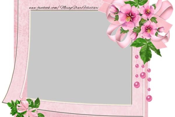 Felicitari personalizate cu poza ta - Poza in rama