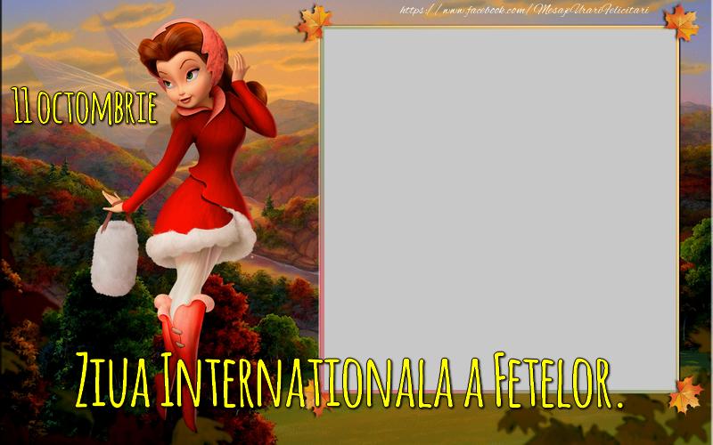 Felicitari personalizate de prietenie - Ziua Internatională a Fetelor