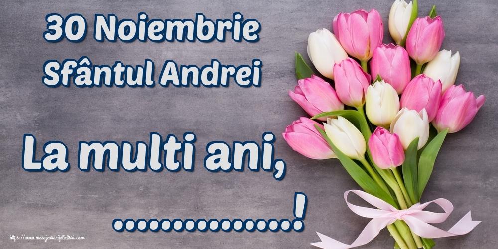 Felicitari personalizate de Sfantul Andrei - 30 Noiembrie Sfântul Andrei La multi ani, ...!