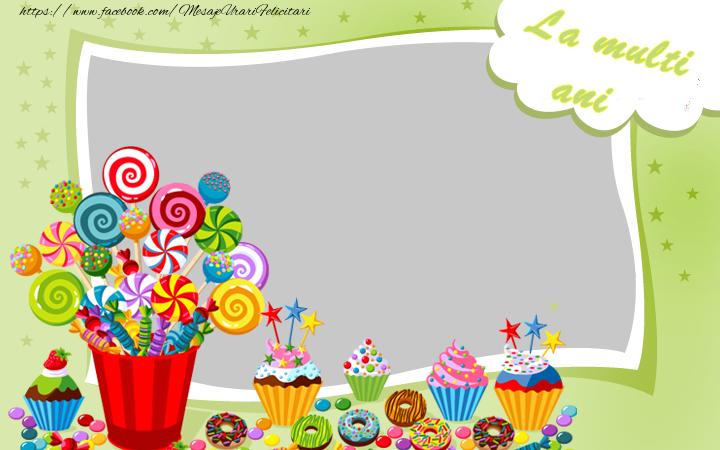 Felicitari personalizate de zi de nastere - La multi ani