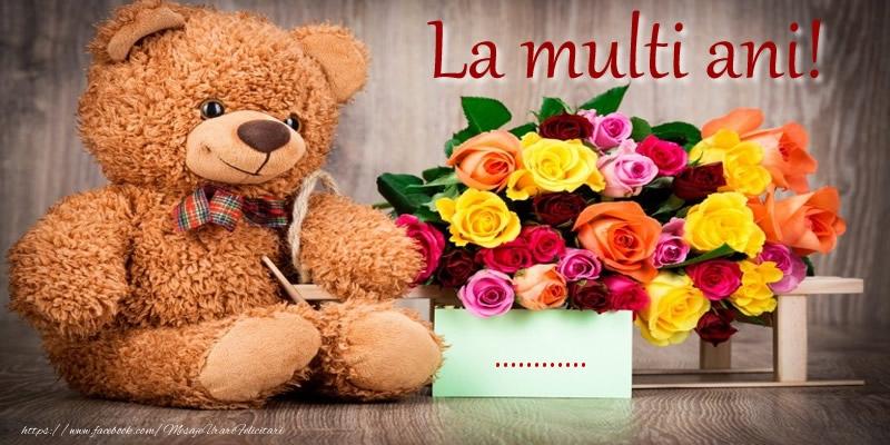 Felicitari personalizate de zi de nastere - La multi ani! ...