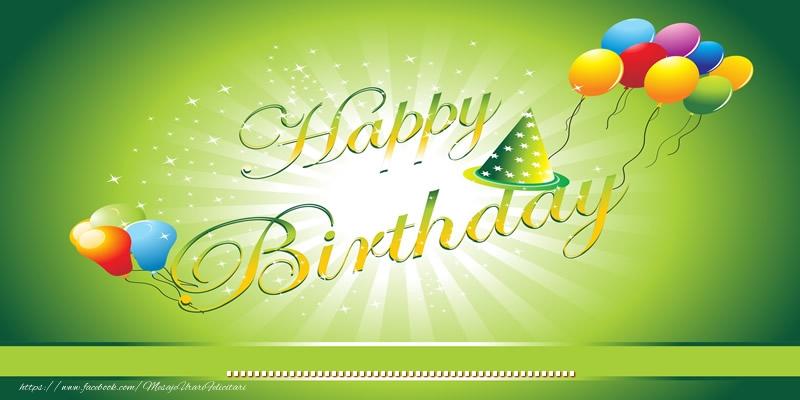 Felicitari personalizate de zi de nastere - Happy Birthday! ...