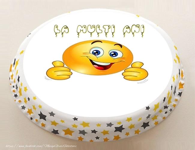 Felicitari personalizate de zi de nastere - Tort - La multi ani ...