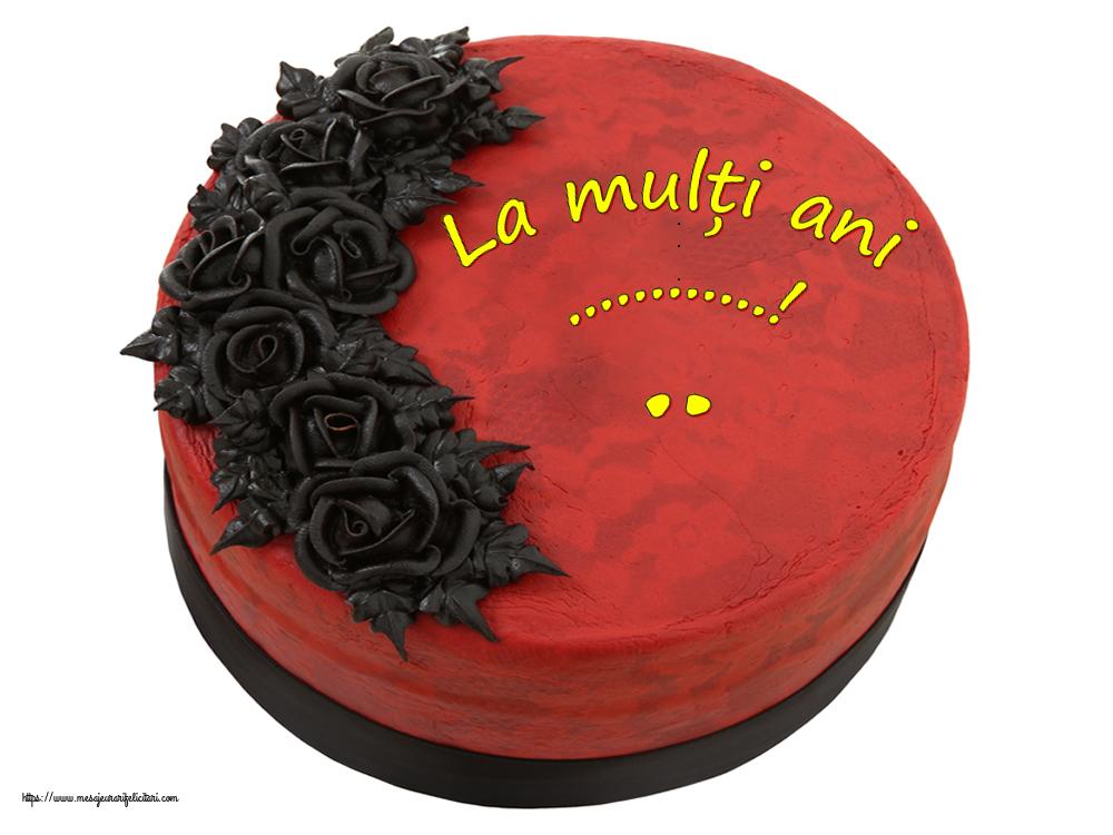 Felicitari personalizate de zi de nastere - La mulți ani, ...!