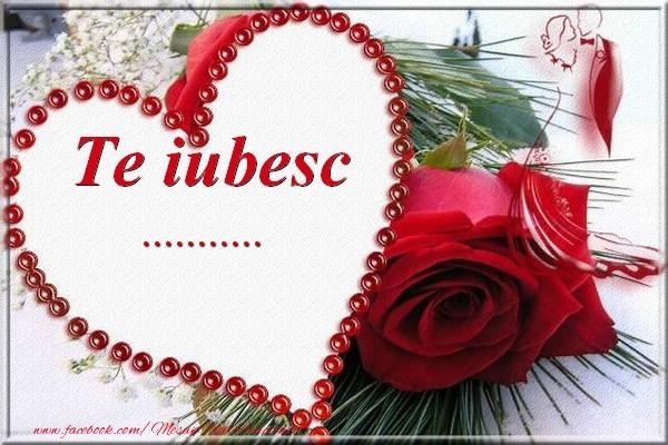Felicitari personalizate Ziua indragostitilor - Te iubesc  ...