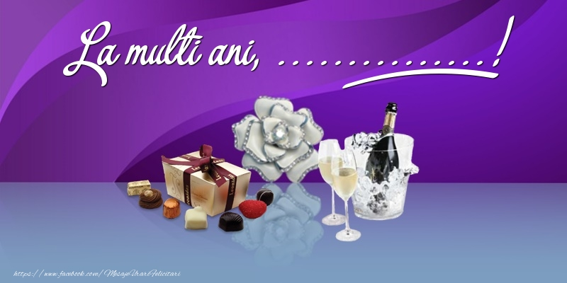 Felicitari personalizate de Ziua Numelui - La multi ani, ...!
