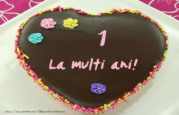 1 an La multi ani! Tort