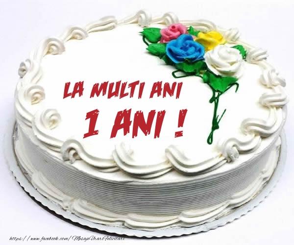 1 an La multi ani! - Tort