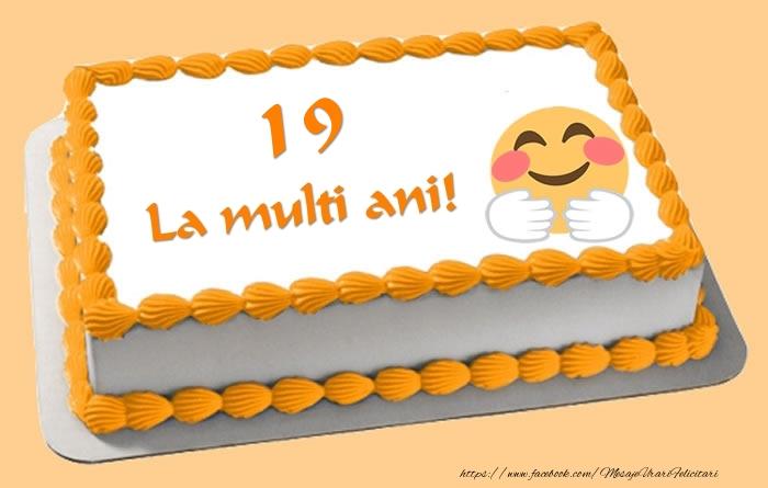 Tort La multi ani 19 ani!