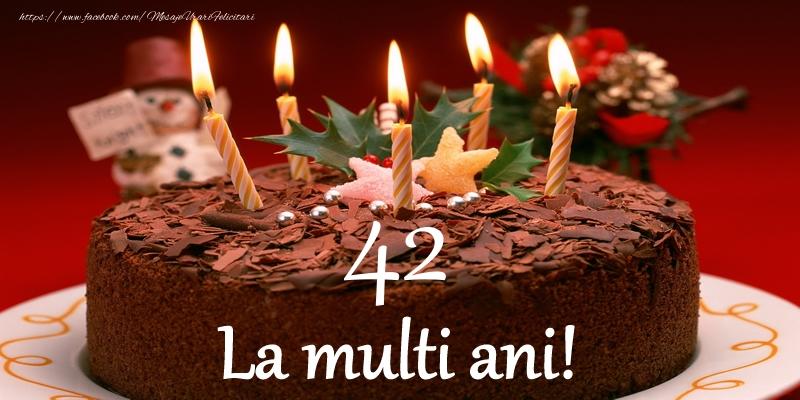 42 ani La multi ani!