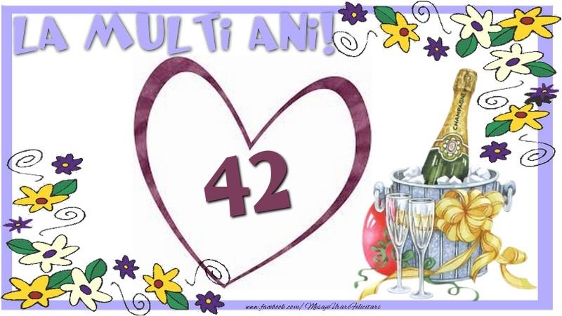 La multi ani 42 ani