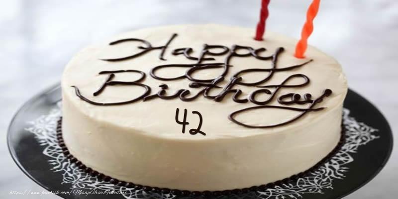 Happy Birthday 42 ani