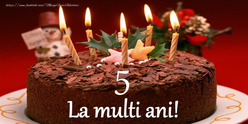 5 ani La multi ani!