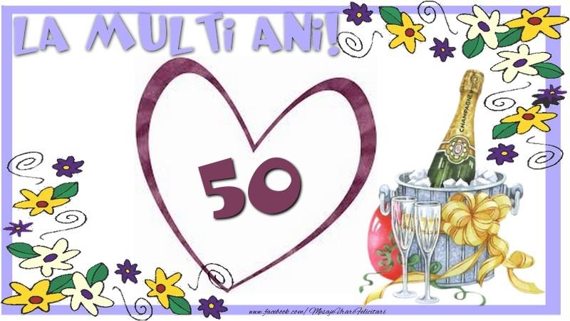 50 Ani Felicitare Fratele