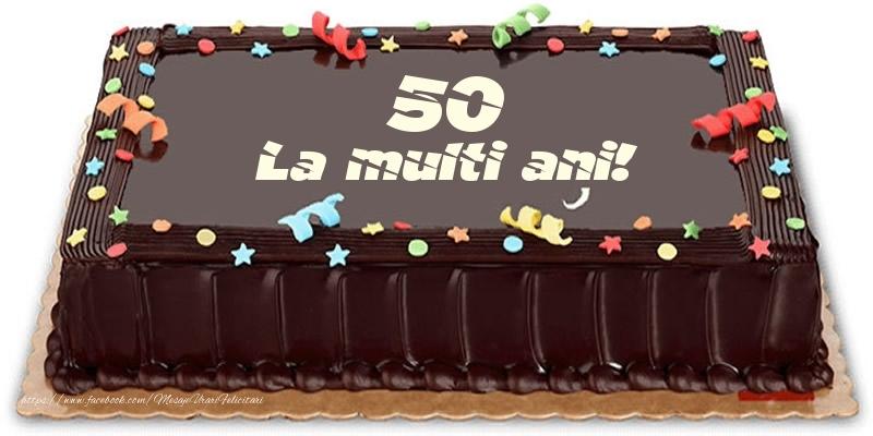 Tort 50 ani La multi ani!