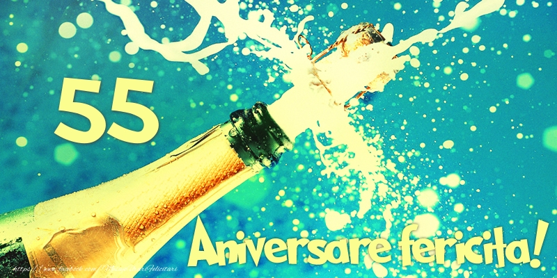 55 ani Aniversare fericita!