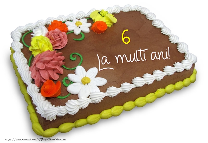 6 ani - La multi ani!