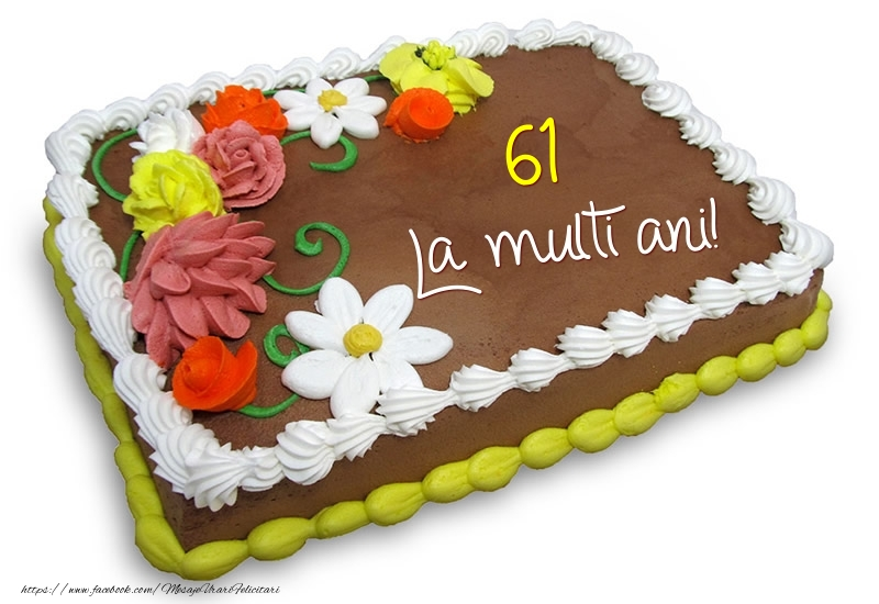 61 ani - La multi ani!