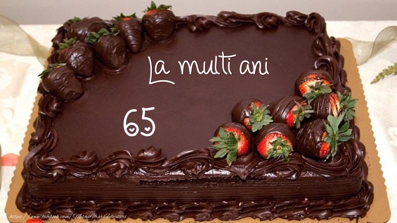 La multi ani! 65 ani