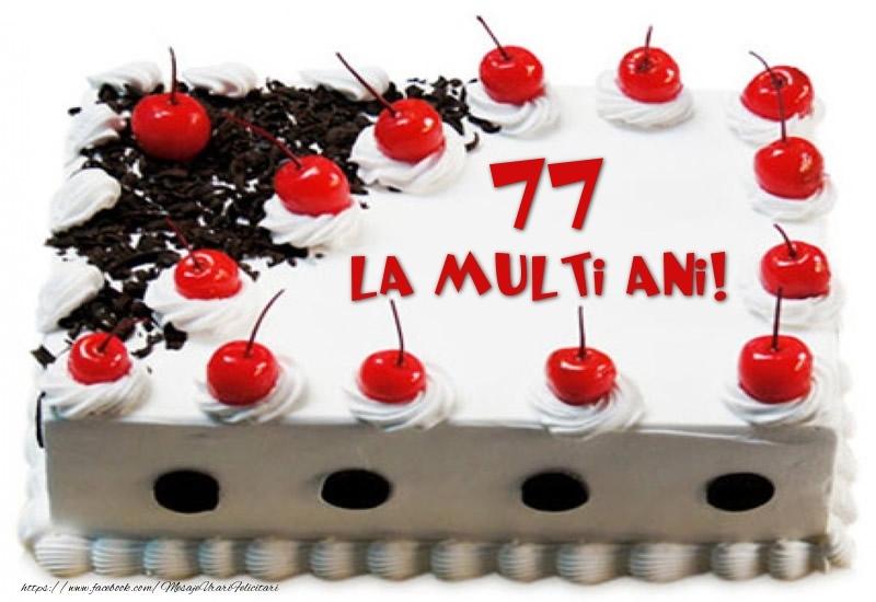 Tort 77 ani La multi ani!