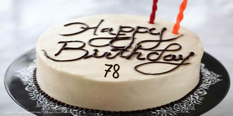 Happy Birthday 78 ani