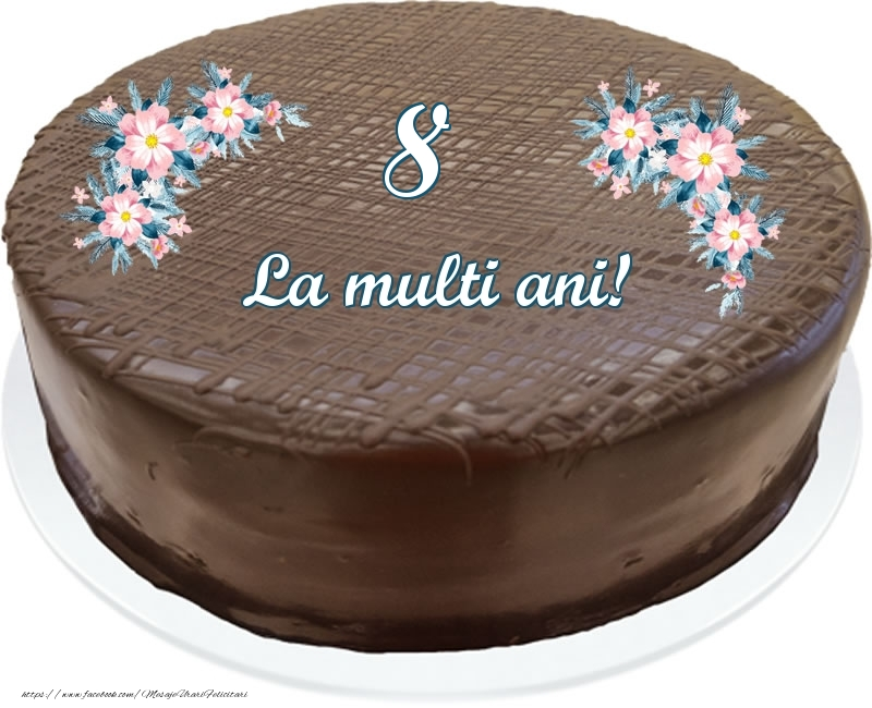 8 ani La multi ani! - Tort