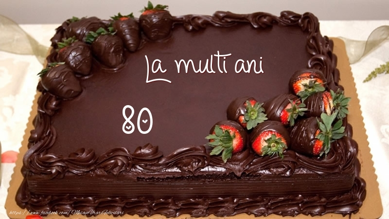 La multi ani! 80 ani