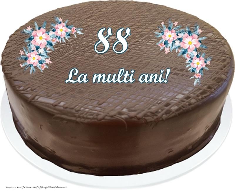 88 ani La multi ani! - Tort