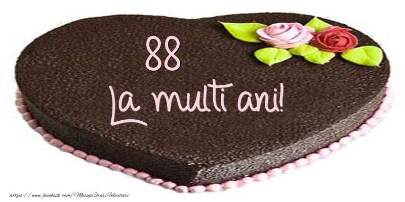 88 ani La multi ani! Tort
