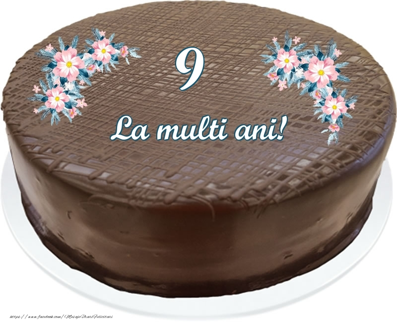 9 ani La multi ani! - Tort