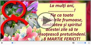 8 MARTIE FERICIT ...!