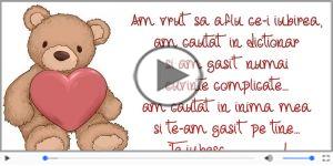 Ursulet- Te iubesc!