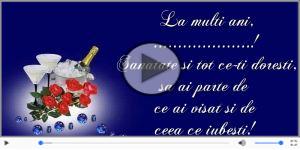 Sampanie si Trandafiri - La multi ani, ...!