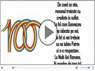 La Multi Ani Romane! - 100 de ani de la Marea Unire