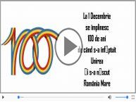 100 de ani de la Marea Unire