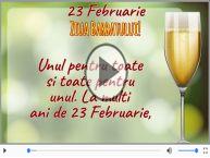 23 Februarie - La multi ani de ziua barbatilor!