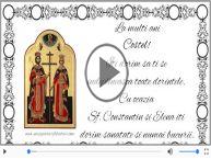 De Sfintii Constantin si Elena, La multi ani sarbatoritilor!