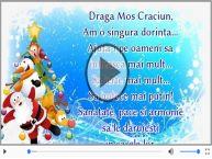 Draga Mos Craciun...