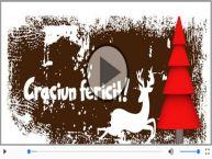 Felicitare muzicala de Craciun pentru prieteni si familie