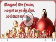 Felicitare muzicala cu mesaje de Craciun!