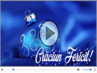 Felicitare muzicala de Craciun